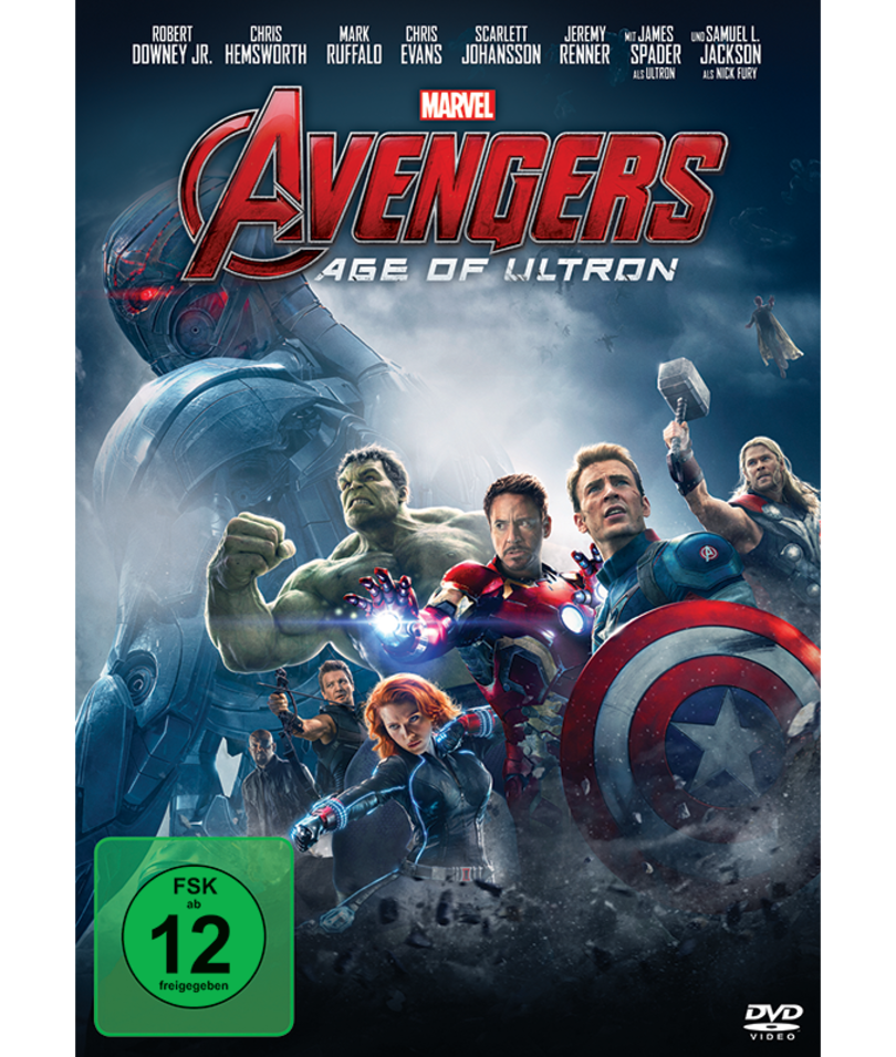 Cover zu Age of Ultron